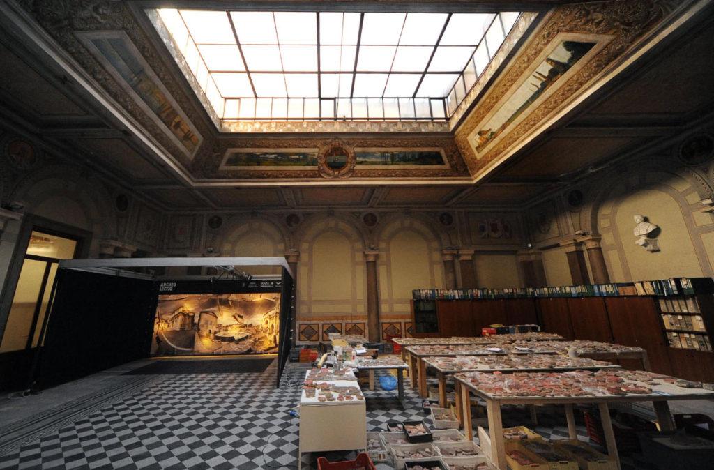 Strumento dell'Archeolectio per la digitalizzazione dell'Archivio Storico Soprintendenza Speciale di Roma