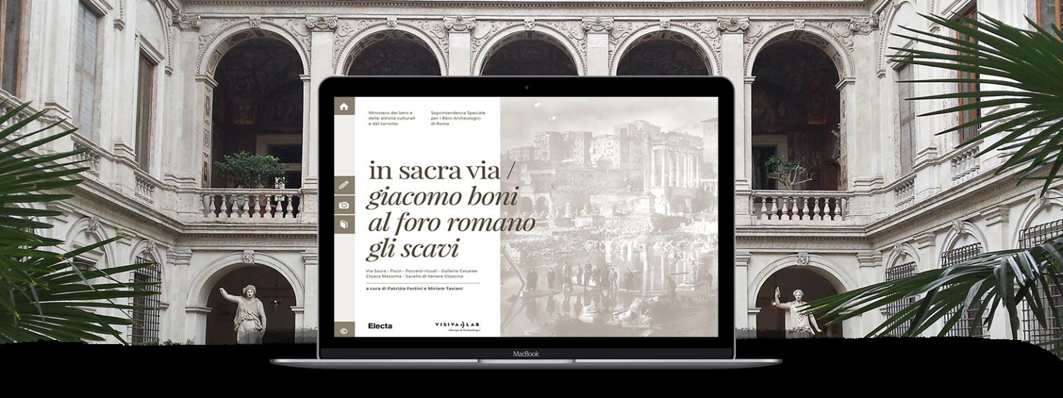 """Pubblicazione """"In sacra via Giacomo Boni al Foro Romano Gli Scavi"""" 2014"""