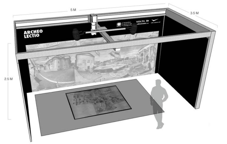 Render Archeolectio - Digitalizzazione Archivio Storico Soprintendenza Speciale Roma