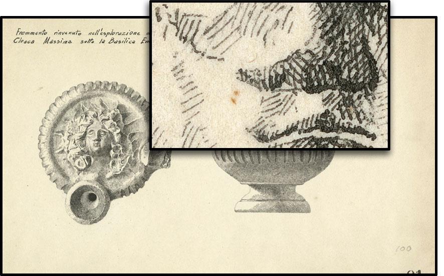 Scanner ad alta risoluziione permette di vedere i dettagli nascosti a semplice vista. Immagini di archivio della Soprintendenza speciale per i Beni Culturali di Roma